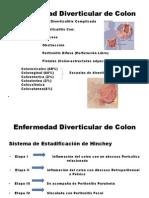 Seminario de Enfermedad Diverticular de Colon