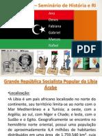 Trabalho Líbia