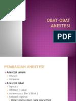 Obat-Obat Anestesi Pp