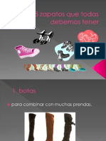 Los 8 Zapatos Que Todas Debemos Tener