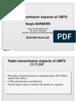 Radio Transmission Aspects of Umts