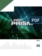 ReaktorPrism Manual English