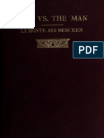 Man Versus the Man by Robert Rives La Monte & H.L. Mencken