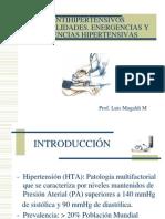 Antihipertensivos Generalidades. Energencias y Urgencias Hipe