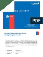 Ley de I+D.Sep 2012