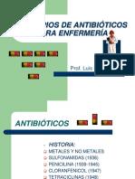 PRINCIPIOS DE ANTIBIÓTICOS PARA ENFERMERÍA