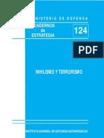 86403196 Instituto Espanol de Estudios Estrategicos Nihilismo y Terrorismo