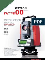Pentaxr400 Manual Ptl En