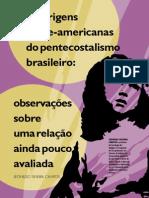 As Origens Norte-Americanas Do Pentecostalismo Brasileiro