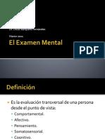 2.Examen Del Estado Mental