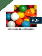Importancia de Los Polimeros