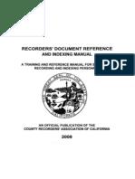 CA Recorder Manual