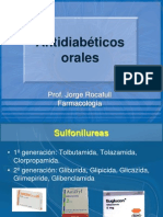 Antidiabéticos orales
