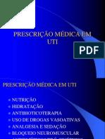 Prescrio Mdica Em Uti