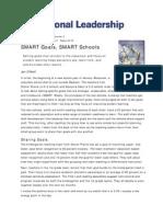 smart goals smart schools