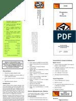 Dyslexia Brochure Spanish