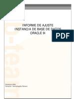 Ejemplo Informe Ajuste Oracle