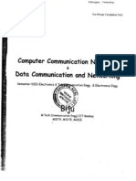 Computer Communication Networks & Data Communication & Networking (SEM - VIII)