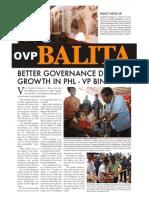 OVP Balita Volume 1 Issue 3
