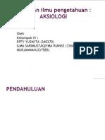 Power Point Aksiologi