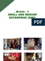 Module 3 Small & Medium Enterprises