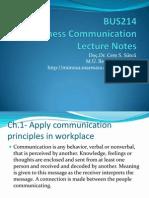 Bus214 Business Communication[1]