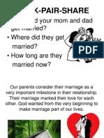 Lesson 8 - Matrimony Day 1