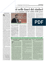 Rassegna Stampa 16.10.2012