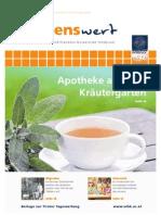 wissenswert 21 - Magazin der Leopold-Franzens-Universität Innsbruck