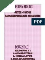 Laporan Praktikum Biologi Hidrogen Peroksida