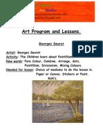 art program and lessons