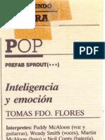 """Crónica de """"El Mundo"""" del concierto de Prefab Sprout en Madrid"""
