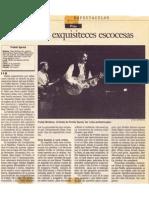 """Crónica de """"El Sol"""" del concierto de Prefab Sprout en Madrid"""