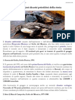 Maree Nere - i 10 Peggiori Disastri Petroliferi Della Storia