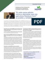 Entrevista al Presidente de SEIPASA en la  Revista AgroQuimica