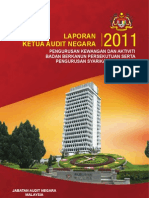 Laporan Ketua Audit Negara 2011 - Pengurusan Kewangan & Aktiviti