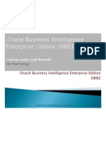 Oracle Business Intelligence Enterprise Edition-OBIEE 11g