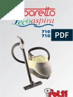 Manual Polti Lecoaspira 710