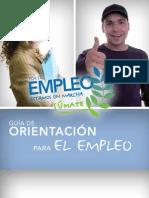 Guia de orientación para el empleo