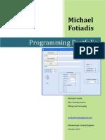 Programming Portfolio r01