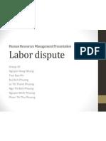 HRM Labor Dispute