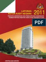 Lapuran Ketua Audit Negara 2011 Malaysia
