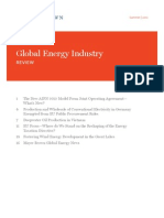 Global Energy Industry Review Summer 2012