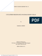 Aspden - Cyclotron Resonance in Human Body Cells (1997)