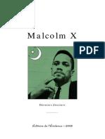 Malcolm X Le Dernier Discours54