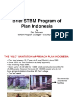 Brief STBM Program of Plan Indonesia