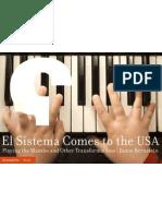 El Sistema Comes to the USA