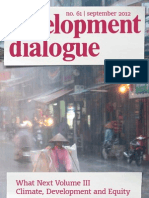 Development Dialogue no. 61 – Climate Development and Equity
