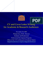 Cv Cover Letters