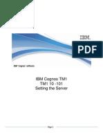 TM1 10 - 101 Workshop - Setting Server